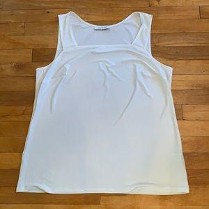 4/$40 - LAURA PLUS Cream Sleeveless Top - Size 2X
